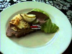 Dansk Smørrebrød Håndmadder: Roastbeef - video recipe in Danish with written English summary