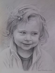 Bethany. 9X2 Graphite portrait