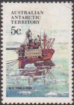 AAT 1979 SG39 5c Ships Thala Dan FU Listing in the Australian Antarctic Territory,Australia & Territories,Oceania,Stamps Category on eBid Australia