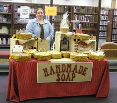 soap craft fair stalls - Google Search