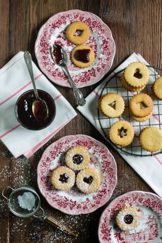 Linzer Cookies for my cookbook coming out in a few months #sweetpaleo #paleospirit