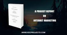 A Project Report On Internet Marketing A unique platform that connects people worldwide and at the s