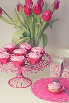 Rose cupcakes | Flickr: Intercambio de fotos