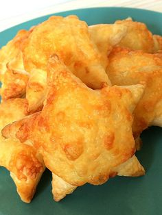 These simple to bake cheese puffs are great as snacks or lunch box treats. Simple enough for a toddler to make too!