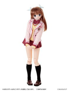 Tsugumi Shirasaki 1/3 Hybrid Azone - A Good Librarian Like a Good Shepherd doll. What an adorable doll! At 50cm she is surely to stand out in your collection #azone #doll