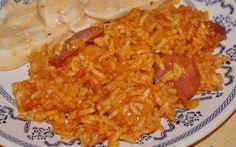 Carolina Red Rice - with onions, sausage and tomato paste