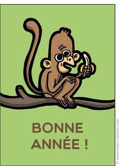 #carte #nouvelan #chinois #chine #signe #singe Carte Nouvel an chinois pour envoyer par La Poste, sur Merci-Facteur ! Disney Characters, Fictional Characters, Chinese New Year Card, Illustrated Maps, The Letterman, Monkeys, Thanks, Fantasy Characters, Disney Face Characters