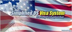 New System for US Visa Application this September
