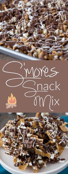 Smores Snack Mix -