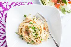 Recipe: Skinny Pasta Carbonara