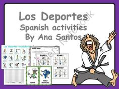Los deportes -Spanish activities from Languages Corner on TeachersNotebook.com -  (36 pages)  - This is a pack of activities about sports in Spanish.