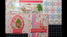 10 Cards 1 Kit - Simon Says Stamp December 2017 PART ONE