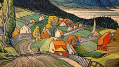 Canadian Painters, Painter Artist, Mountain Art, Green Art, Beautiful Artwork, Les Oeuvres, Saint, Art Sketches, Landscape Paintings