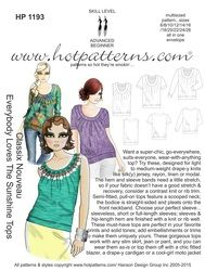 HP 1193 letter download Classix Nouveau Everybody Loves the Sunshine Tops