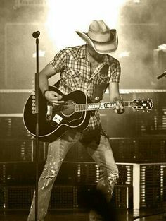 Jason Aldean in Charlotte, NC I took this photo at the Concert .. :)