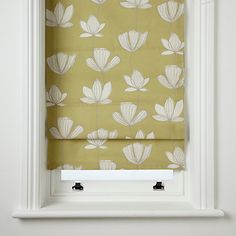 Roman blinds - in the kitchen, bathroom or bedroom - are a classic window dressing that can create privacy or blackout light in your living spaces. Here are our pick of our favourite Roman blind designs that you can buy online Woodland Nursery Decor, Decorating Blogs, Blinds Design, Roman Blinds, Classic Window, Blinds, Soft Furnishings, Home Decor, Ideal Home