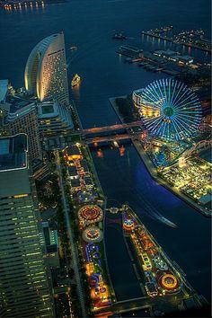 Yokohama Amusement Park | Also from the top of the Landmark … | Flickr