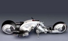 30 Futuristic Motorcycles - From Robotic Racing Bikes to Hi-Tech Borrowed Bicycles