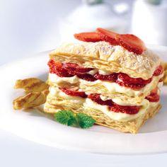 Pepperidge Farm® Puff Pastry - Recipe Detail - Mini Strawberry Napoleons