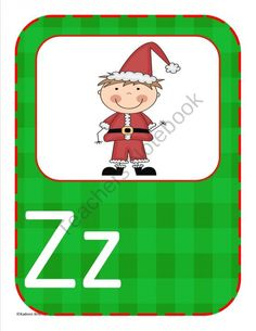 Christmas Themed Multipupose letters product from Kadeen-Whitby on TeachersNotebook.com