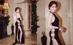 Ngọc Trinh mặc váy xẻ táo bạo: Không xử phạt được