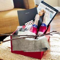 ¡Crea un kit romántico para tu pareja! Busca más ideas para San Valentín en http://www.1001consejos.com/manualidades-para-mi-novio/ #SanValentin