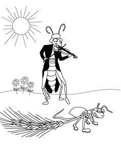 tücsök és a hangya