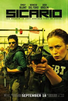 High resolution official theatrical movie poster ( of for Sicario Image dimensions: 1350 x Directed by Denis Villeneuve. 2015 Movies, All Movies, Action Movies, Great Movies, Movies To Watch, Movies Online, Movies Free, Drama Movies, Latest Movies