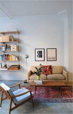 Small Living Room Furniture, Tiny Living Rooms, Living Room Sets, Living Room Interior, Home Living Room, Living Room Decor, Sofa Layout, Furniture Layout, Small Room Design