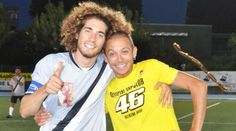 Vale with Sic. They looked so happy.... :'( I miss seeing sic on the track.