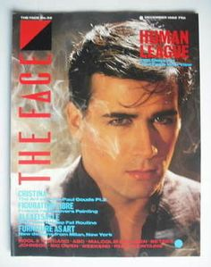 The Face magazine - Phil Oakey cover (December 1982 - Issue 32)