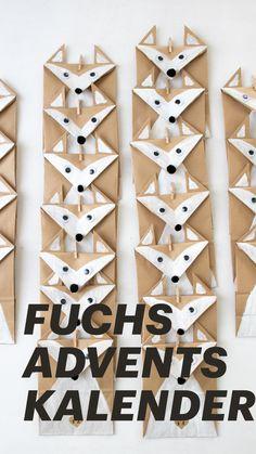 Fuchs Adventskalender - DIY Schritt für Schritt Anleitung