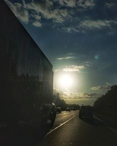 Highway driving. #photo #photography #scenic #landscape #morning #sunrise #Michigan #puremichigan #outdoors #travel #light #highway