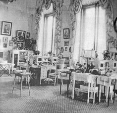 "The Grand Duchesses Classroom at the Livadia Palace. ""AL"""