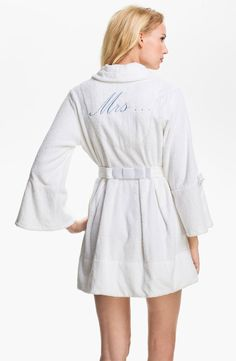 Mrs... Honeymoon Robe