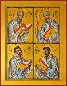 Four Evangelist Russian Orthodox icon