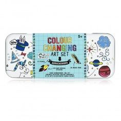 This Colour Changing Art Set opens up to reveal a box of colourful magic for art lovers of all ages.