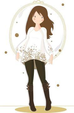 HER Little world, Patron de couture pour adulte : Tunique Imprévue