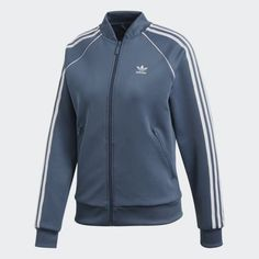 Browse women's adidas jackets for working out, fashion, track & more. See the latest styles including long track jackets, floral, bomber and more. Adidas Official, Gray Jacket, Sport Outfits, Adidas Women, Adidas Jacket, Sportswear, Adidas Originals, Coat, My Style