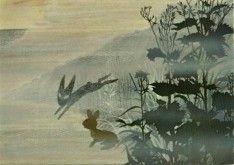 inlé, rabbits, art, book, black rabbit
