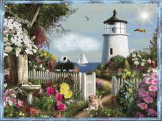 Light House GIF - LightHouse - Discover & Share GIFs