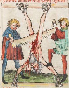 Speculum Humanae Salvationis 1427 Cod. membr. 8  Folio 24r