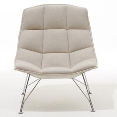 Found it at AllModern - Jehs+Laub Wire Base Lounge Chair