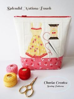 charise Randell sewing pouch