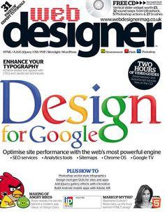 Web Design magazine for sale! Seo Site, Database Design, Google Tv, Custom Web Design, Custom Website, Seo Services, Search Engine Optimization, Design Development, Magazine Design