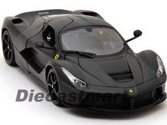 LAFERRARI F70 MATTE BLACK 1:18 DIECAST MODEL BY BBURAGO SIGNATURE 16901 ELITE #Bburago #Ferrari