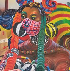 Kufa Makwavarara: Covid Vaccine Roll-Out   StateoftheART Original Paintings, Rolls, Superhero, Canvas, Gallery, Fictional Characters, Art, Tela, Art Background