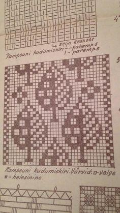 Tapestry Crochet Patterns, Fair Isle Knitting Patterns, Knitting Charts, Crochet Motif, Loom Knitting, Knitting Stitches, Knitting Designs, Graph Design, Chart Design
