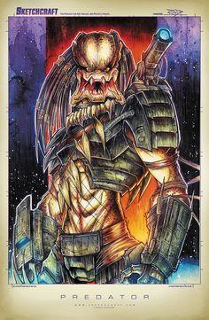 Predator Suave by RobDuenas.deviantart.com on @deviantART