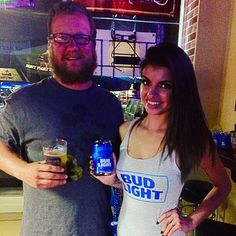 Thank you to the Bud Light girls for stopping by our Trivia Night!